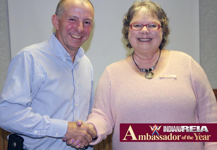 Fort Wayne Indiana REIA award at REIA meeting
