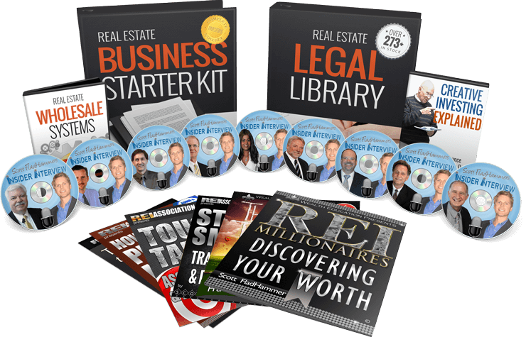 Video home-study courses to Learn Real Estate Investing Faster